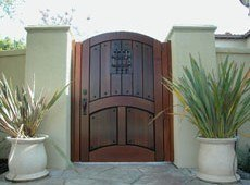 Designer Wood Gates
