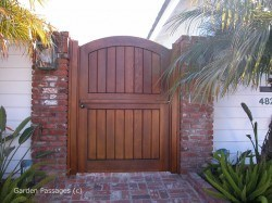 Designer Wood Gates #H5