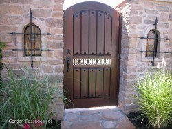 Designer Wood Gates #H7