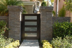 Designer Wood Gates #H11