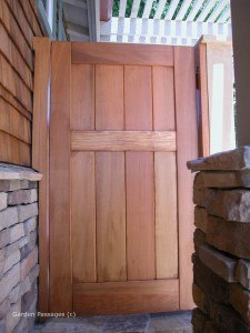 DIY Wood Gates #V1