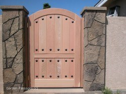 DIY Wood Gates #H2