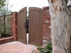 DIY Wood Gates #H4