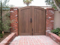 DIY Wood Gates #H5