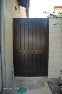 DIY Wood Gates #V6