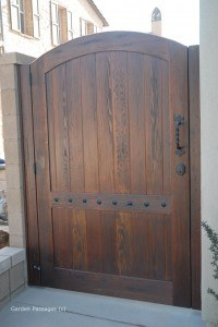 DIY Wood Gates #V7
