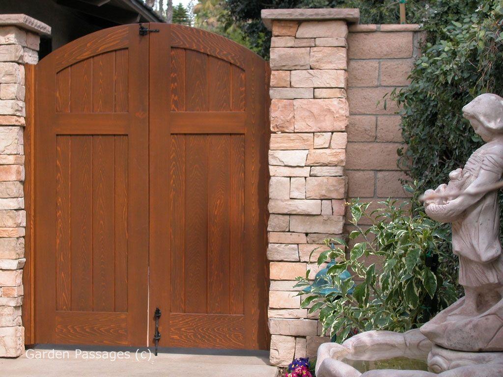 DIY Wood Gates H8 Garden Passages