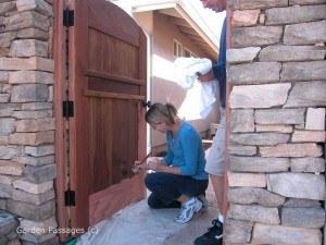 DIY Wood Gates #H9