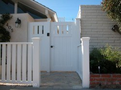 DIY Wood Gates #H10