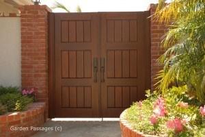 Premium Wood Gates #H36