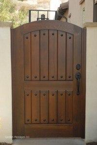 Premium Wood Gates #V1