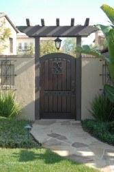 Premium Wood Gates #V3