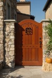 Premium Wood Gates #V4