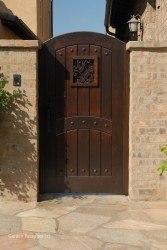 Premium Wood Gates #V7