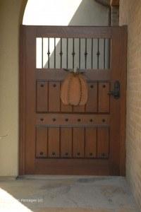 Premium Wood Gates #V5