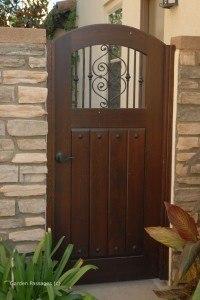 Premium Wood Gates #V15
