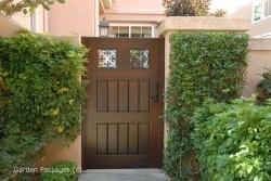 Premium Wood Gates #H3