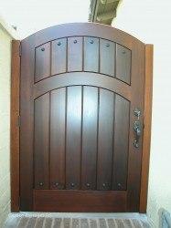 Premium Wood Gates #V6