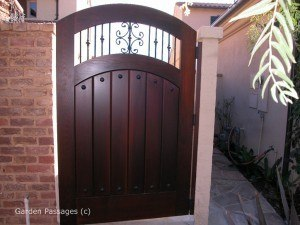 Premium Wood Gates #H4