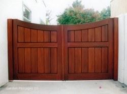 Premium Wood Gates #H5