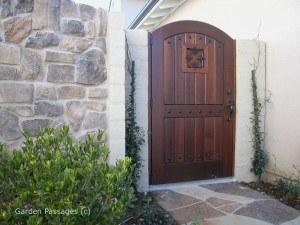 Premium Wood Gates #H7