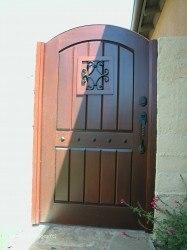 Premium Wood Gates #V11
