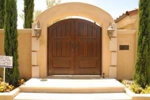 Premium Wood Gates #H13