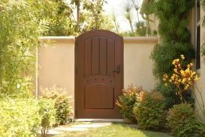 Premium Wood Gates #H11