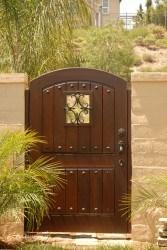 Premium Wood Gates #V12