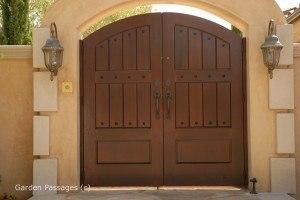 Premium Wood Gates #H16
