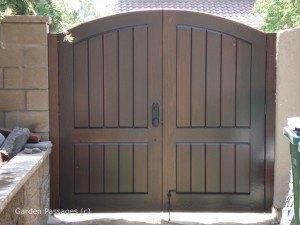 Premium Wood Gates #H15
