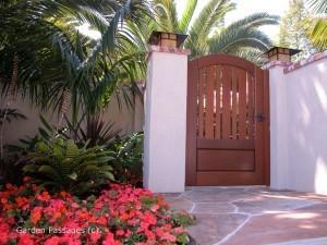 Premium Wood Gates #H17