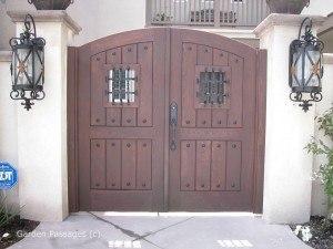 Premium Wood Gates #H18