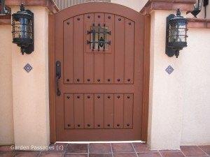 Premium Wood Gates #H19