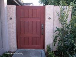 Premium Wood Gates #H20
