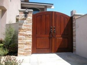 Premium Wood Gates #H22