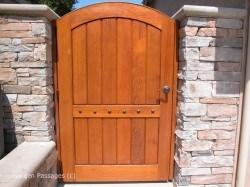 Premium Wood Gates #H24