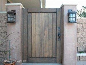 Premium Wood Gates #H26