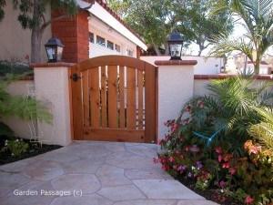 Premium Wood Gates #H27