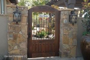 Premium Wood Gates #H29