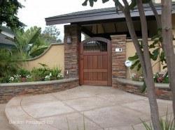 Premium Wood Gates #H30