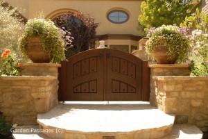 Premium Wood Gates #H31