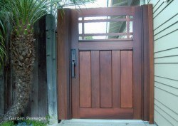 Premium Wood Gates #H32