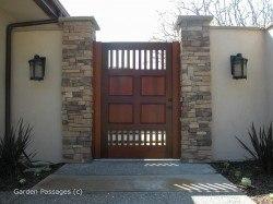 Premium Wood Gates #H33