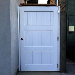Craftsman Wood Gate #404