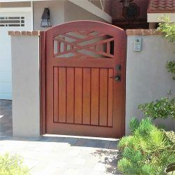 Craftsman Wood Gate #407