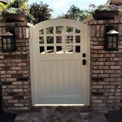 Craftsman Wood Gate #408
