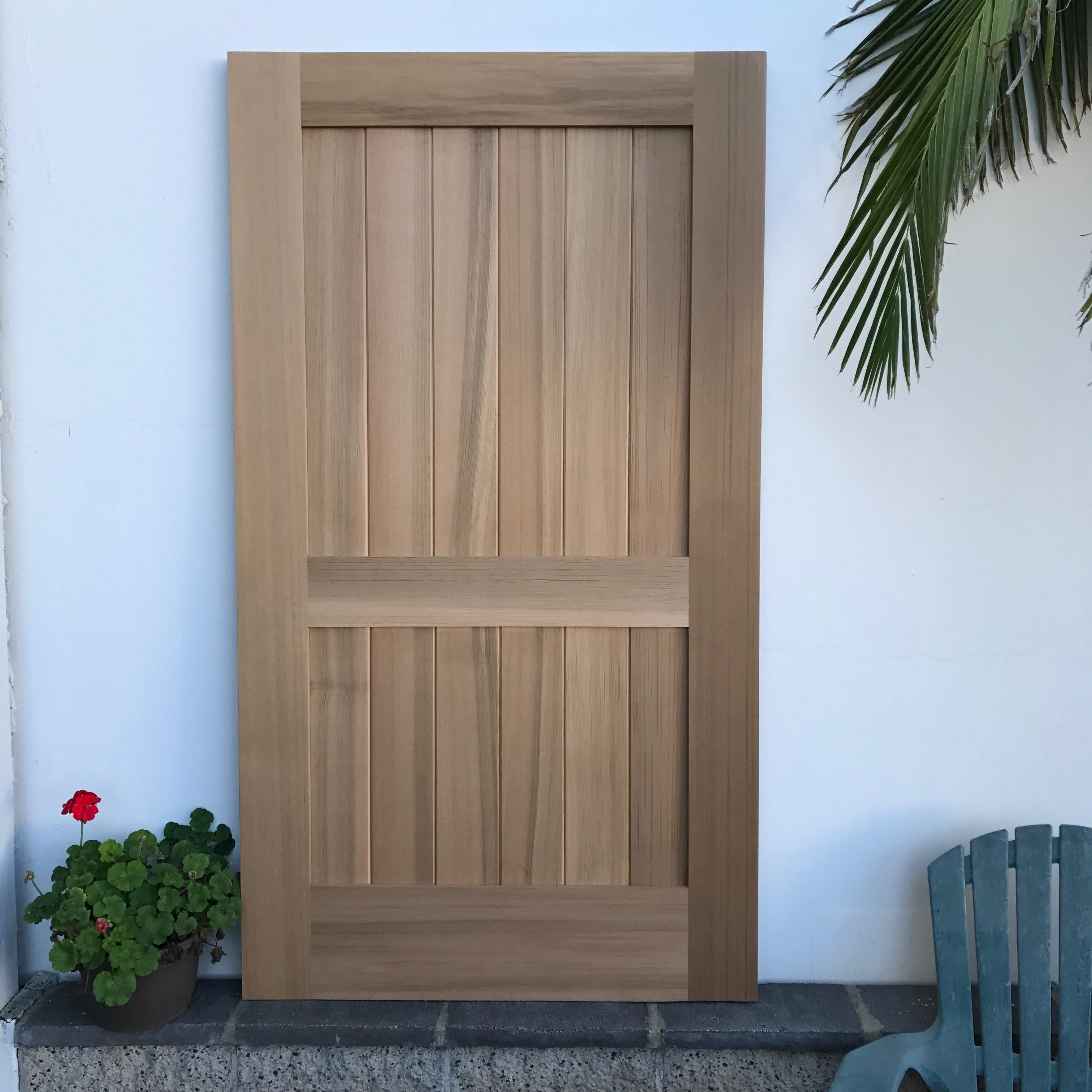 Diy wood gates custom wood gates by garden passages diy wood gate square top 1 crossbar solutioingenieria Image collections