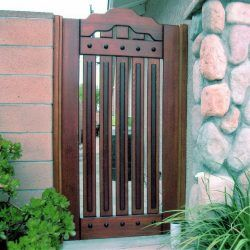 Designer Wood Gate #613