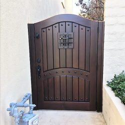 Designer Wood Gate #614